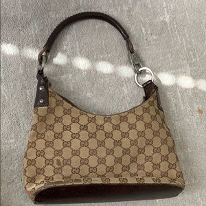 Vintage Brown and tan Gucci bag
